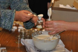 skincare workshop cream making